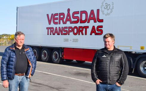 Veråsdal transport 30 år